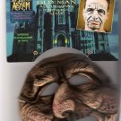 Disguise Halloween Fright Asylum Old Man Vinyl Chinless Mask Brand New