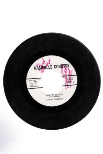 Linda Cassady Autographed 45 Don't Call Me Betty Ann Nashville Country Label