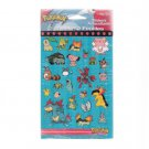 Vintage 1998 Pokemon Stickers DesignWare Six Packages 12 Sheets New Factory Sealed