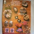Creative Claymates Easy Jewelry Design Originals Polymer Clay Fimo Booklet