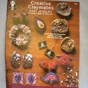 creative claymates easy jewelry design originals polymer clay fimo booklet. Black Bedroom Furniture Sets. Home Design Ideas