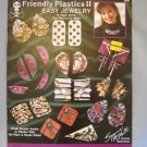 Friendly Plastics II Easy Jewelry Booklet Design Originals No. 2093