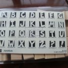 Alphablocks Stampin' Up! Retired Stamp Set NEW
