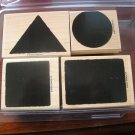 The Shape Of Things Stampin' Up! Retired Stamp Set USED