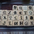 Crazy Alphabet Stampin' Up! Retired Stamp Set