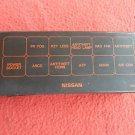 1996 - 1999 Nissan Pathfinder Fuse Relay Panel Cover Lid OEM FREE SHIPPING!  A10