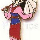 Mulan with Umbrella full body Authentic Disney pin