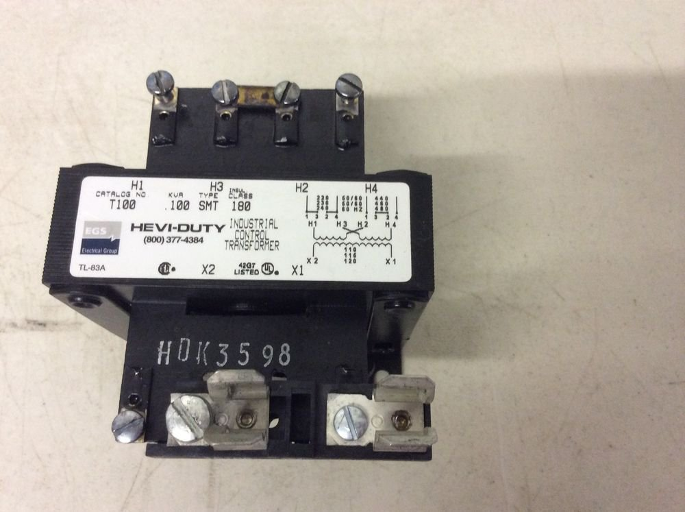 Sola Transformer Wiring Diagram : Sola hevi duty t control transformer va kva