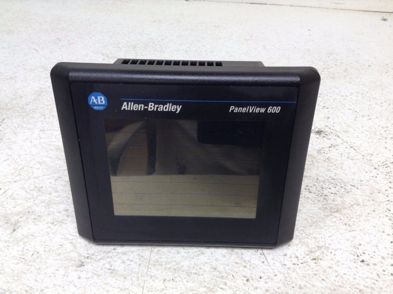 Allen Bradley PanelView 600 2711-T6C20L1 Ser B Rev C FRN 4 43