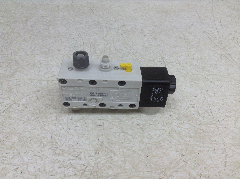 Rexroth Bosch Pneumatik PW 67697 5 24 VDC Control Valve 572 749 022 0 New