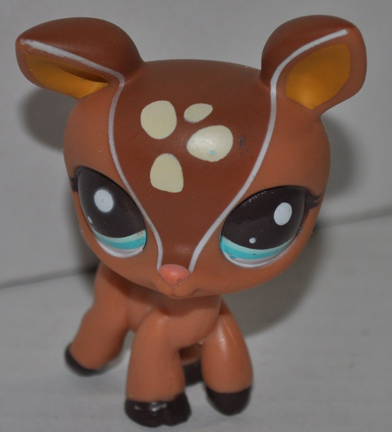 Deer #2499 Littlest Pet Shop (Retired) Collector Toy LPS Collectible Replacement Figure Loose