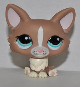 Corgi #1864 Littlest Pet Shop (Retired) Collector Toy LPS Collectible Replacement Figure Loose