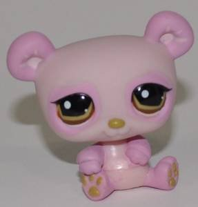 Panda #899 Littlest Pet Shop (Retired) Collector Toy LPS Collectible Replacement Figure Loose