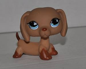 Dachshund #518 Littlest Pet Shop Collector Toy LPS Collectible Replacement Figure Loose