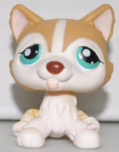 Husky #386 Littlest Pet Shop (Retired) Toy - LPS Collectible Replacement Single Figure Loose