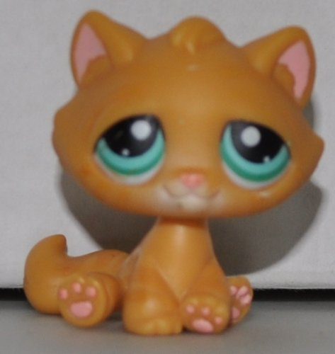 Kitten #300 Littlest Pet Shop Retired Toy LPS Collectible Single Figure Loose OOP