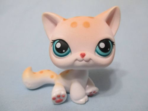 Shorthair Cat #224 Littlest Pet Shop Retired Collector Toy LPS Collectible Figure Loose OOP