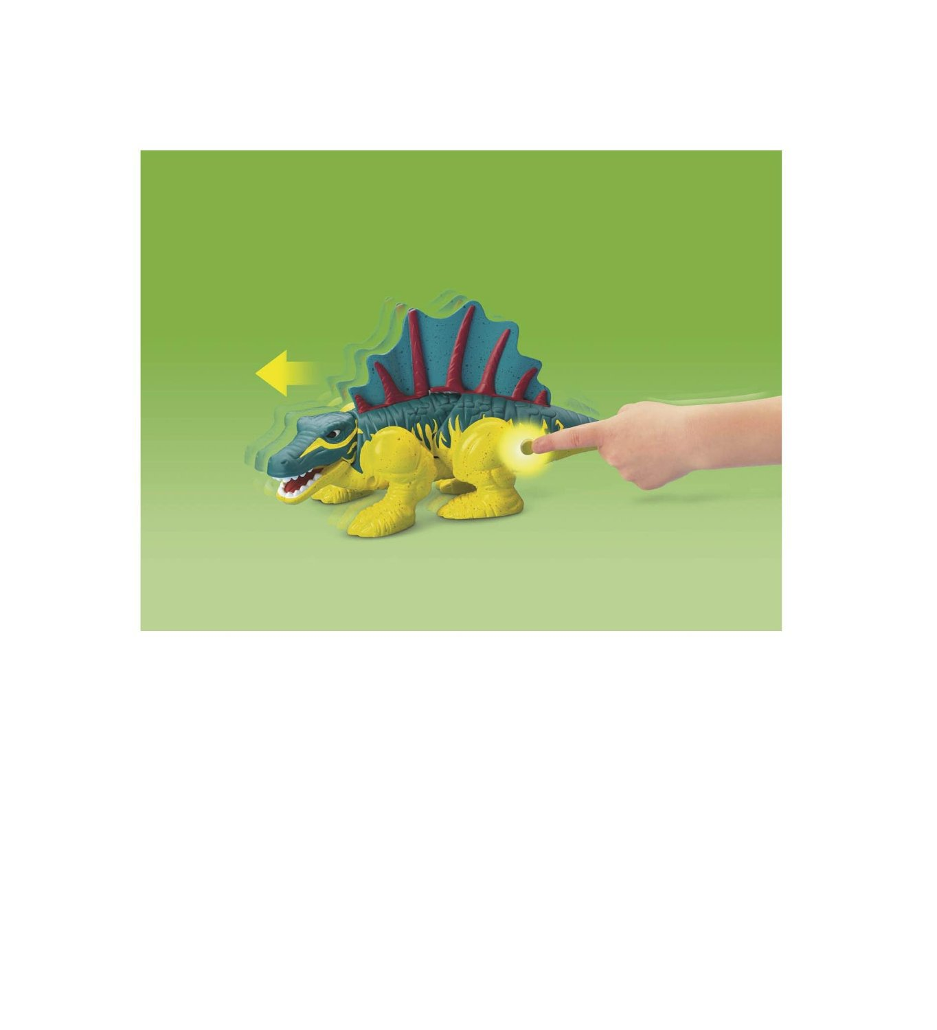 Fisher-Price Imaginext Spiny the Dimetrodon dinosuar