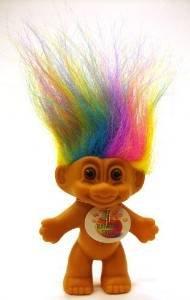 My Lucky RAINBOW Mini Troll Doll
