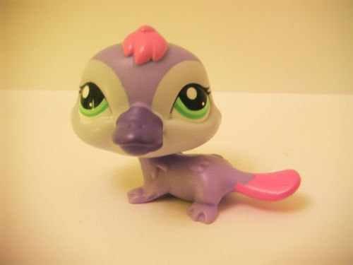 Littlest Pet Shop Platypus # 2528 lps rare