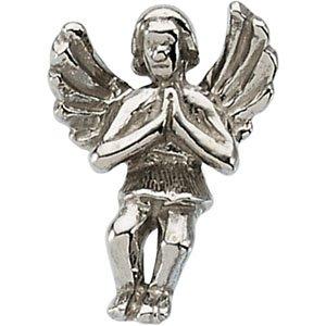 Sterling Silver Praying Angel Lapel Pin