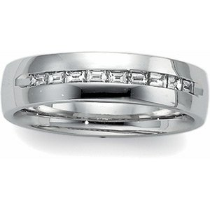 14kt White Gold Men's Ring