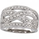 14kt White Gold .50 Diamond Ring