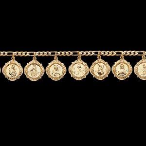 14kt Yellow Gold Heavenly Friends Bracelet