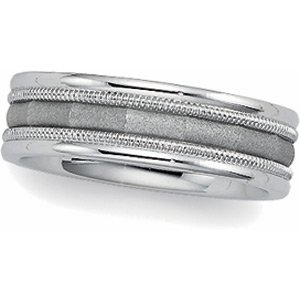 14kt White Gold Wedding Ring