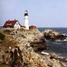 Portland Head Lighthouse (Portland 001) - 8 x 10 Matted Photograph