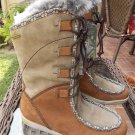 New Women's Hi Tec Sierra Somoni 200 Water Proff Tan Winter Boots Sz. 7