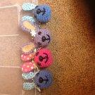 Crochet bunny keychains
