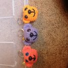 Crochet bear keychains/backpack buddy