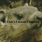 Beaver Baby 1 - PDF Cross Stitch Pattern