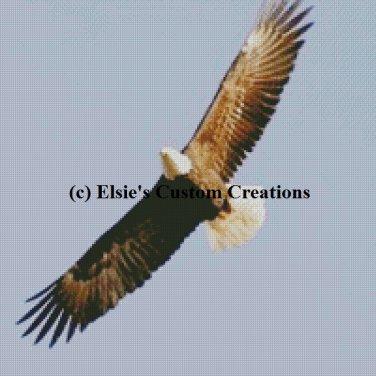 Eagle 1 - PDF Cross Stitch Pattern
