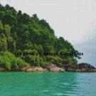 Asian Coastline 2 - PDF Cross Stitch Pattern