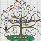 Tree of Life - PDF Cross Stitch Pattern