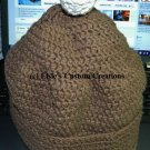 Double Crochet Adult Winter Hat - PDF Crochet Pattern