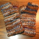 Ribbed Finger-Less Gloves - PDF Crochet Pattern