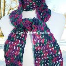 Ribbed Lace Scarf - PDF Crochet Pattern