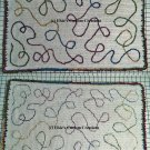 Loops and Swirls Overlay Blanket Afghan - PDF Crochet Pattern