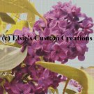 Elsie's Lilacs 3 - PDF Cross Stitch Pattern