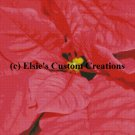 Poinsettia Flowers 2 - PDF Cross Stitch Pattern