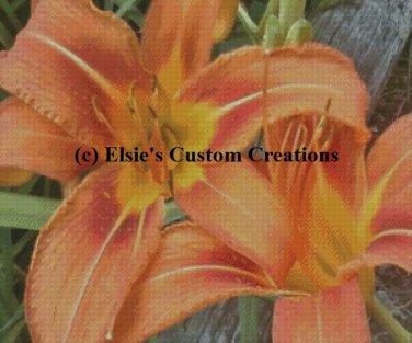 Tiger Lilly's 9 - PDF Cross Stitch Pattern