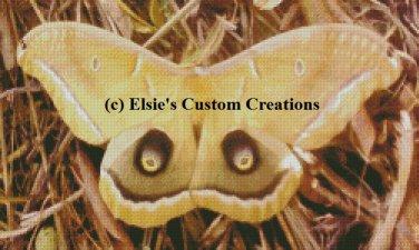 Giant Moth 1 - PDF Cross Stitch Pattern