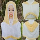Cotton Capelet Hoodie - PDF Knitting Pattern