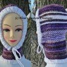Knit Hoodie Hat (Teen to Adult) - PDF Knitting Pattern