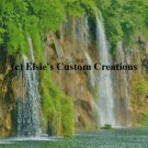 Balkans Plitvice Waterfall 3 - PDF Cross Stitch Pattern