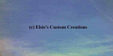 Sky Blue 1 - PDF Cross Stitch Pattern