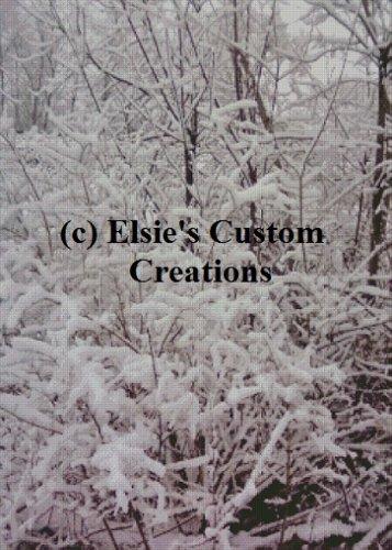Winter Scene 3 - PDF Cross Stitch Pattern